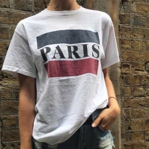 Brandy Melville Paris tee NWT